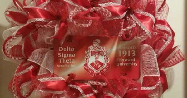 Delta Sigma Theta Sorority Inc Wreath Ej S Wreath S