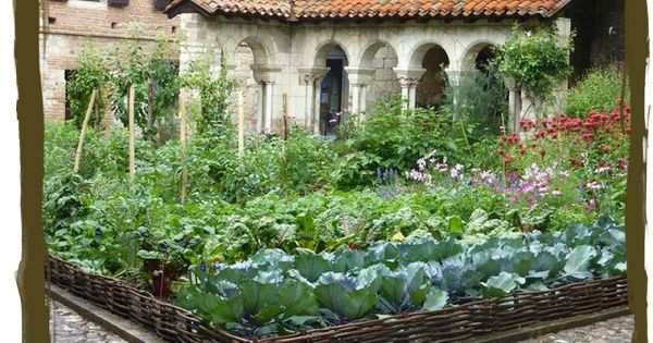 Quot A Potager Is A French Style Ornamental Kitchen Garden It
