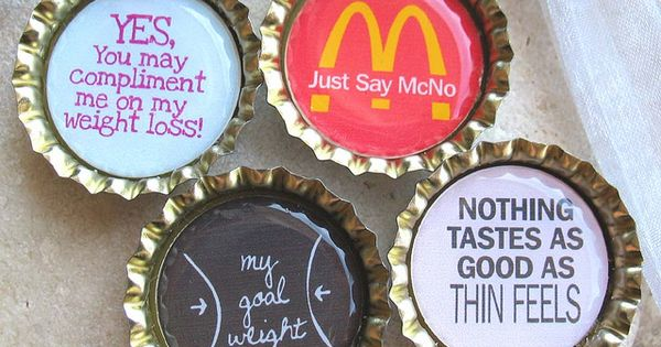 Weight Loss motivation magnets