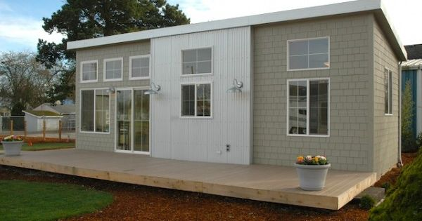 NW Modern Ideabox, 400 sq. ft. prefab home from Salem, OR. It