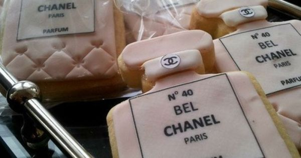 Chanel cookies - I did for my sister bridal shower