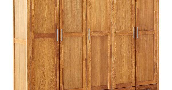 Kleiderschrank New Oak 5 Turig Geolt