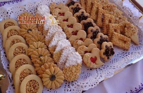 حلويات العيد والمناسبات طريقة تحضير و تزيين أروع صابلي برستيج ب 3 مكونات بسيطة Sable Prestige Youtube Desserts Sweet Meat Moroccan Cookies