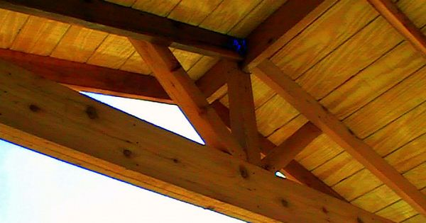 Cedar Gable Open Rafter Patio Cover Picture Patio Cover