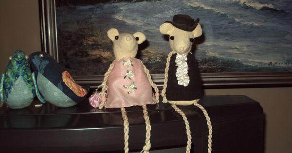 Mouse wedding hanna gerda pinterest mice and wedding