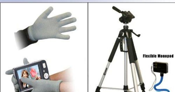 Professional 72 Inch Tripod For Sony Cyber Shot Dsc W220 Dsc S930 With Flexible Monopod And Touch Screen Glove Touch Screen Gloves Sony Cybershot Touch Screen