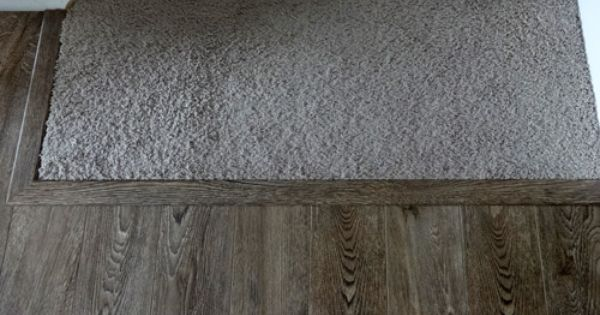 An Easy Way To Transition Carpeted Stairs Into Laminate Or Hardwood Flooring Carpet Stairs Flooring Transition Flooring