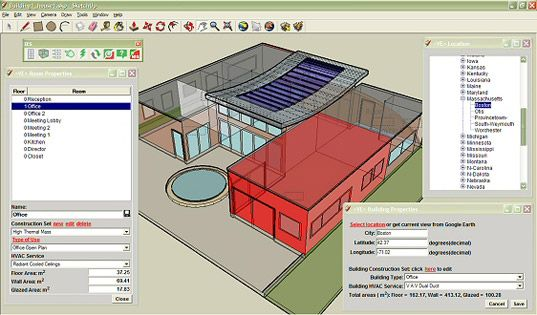 Free Energy Modeling For Google Sketchup Google Sketchup