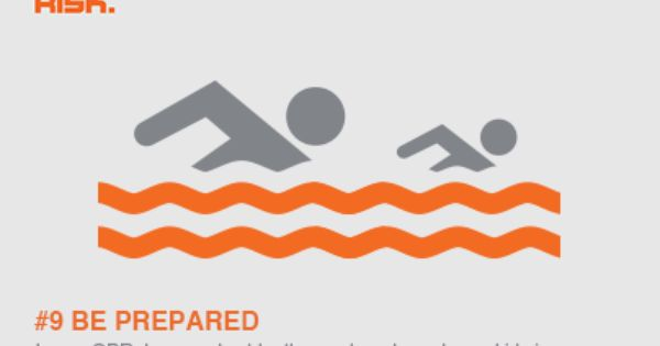 Water Safety Tip 9 Be Prepared By Learning Cpr Keeping A Resuscitation Chart By The Pool And Enrolling Your Ki