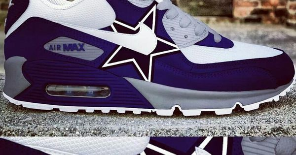 Dallas Cowboys Custom Nike Air Max All About Dallas