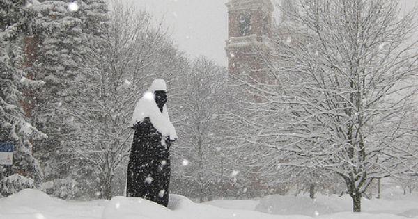 Gonzaga University in winter | Gonzaga University ...
