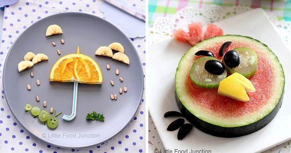 Fruta divertida para ni os recetas pinterest fruta for Cocina divertida para ninos