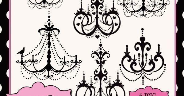 Chandelier Clipart  art stuff  Pinterest  샹들리에 및 인테리어