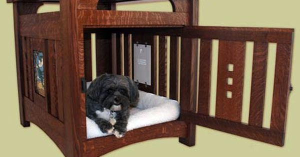 Pet Furniture In The Arts Crafts Style By Bungalow Bob S Of Columbus Craftsman Style Decor Mission Furniture Mission Style Furniture