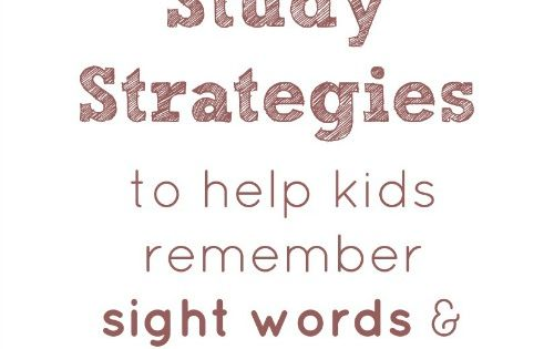 how to study spelling words a spelling strategy for students