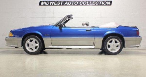 1990 Mustang Gt Convertible For Sale 1 Mustang Gt Mustang Fox