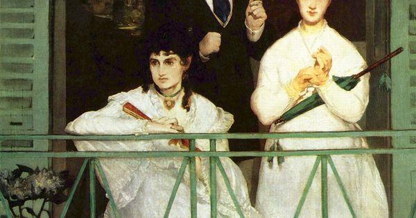 The Balcony - Edouard Manet 군중 속의 고독. 함께있지만 공허한 눈빛 ...