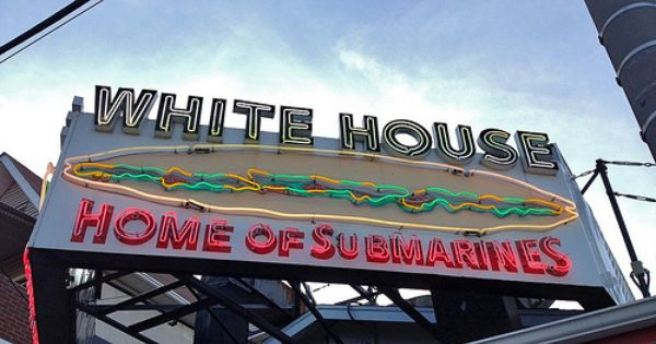 White House Subs Neon Sign By Mod Betty Retroroadmap Com Via Flickr Atlantic City White House Historic Neighborhoods