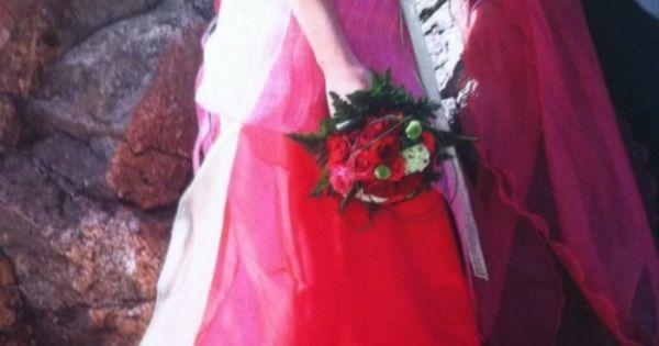 Robe de mariée Elsa Gary originale et colorée doccasion  Robes de ...