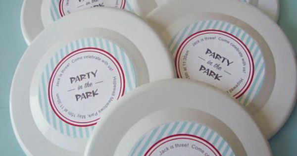 Party in the Park Birthday Idea