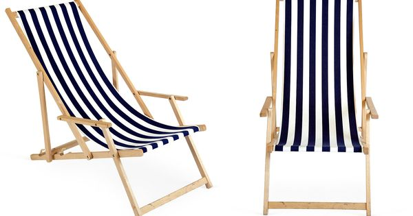 Classic beach chairs for the cottage.
