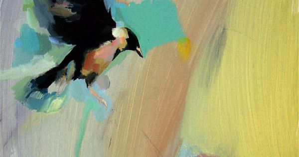 DrawRicoDraw, Bird in flight
