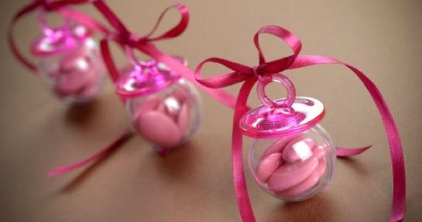 Baby Shower Babyschnuller 6 Stück Tischdeko Geburt Taufe Streudeko Gastgeschenk