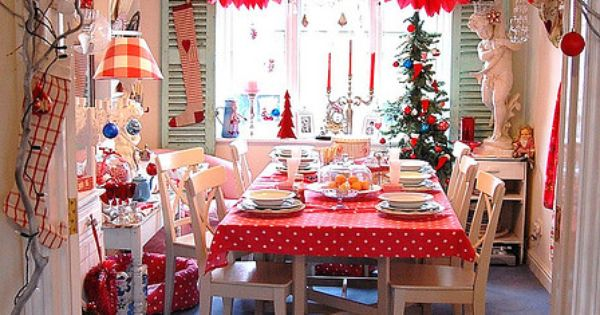 Christmas Morning Kitchen | christmas xmas holiday decorating decor