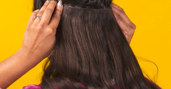 How to Apply Hair Extensions | Video | Pinterest