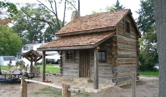 Old Log Cabin Example For My Log Cabin Replica Western