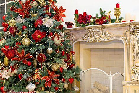 Weihnachtsbaum schm cken in rot unbedingt kaufen for Pinterest weihnachtsbaum