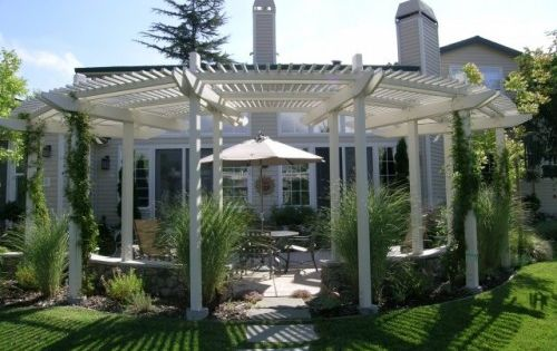 Semi Circle Pergola For The Home Pinterest The Shade