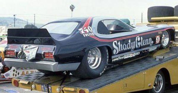 shady glenn plymouth duster aa fc funny car race transport drag racing pinterest. Black Bedroom Furniture Sets. Home Design Ideas