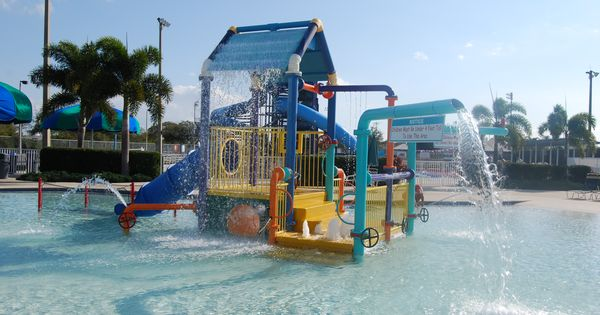 The Kiddie Pool At The Fort Myers Aquatic Center In Fort