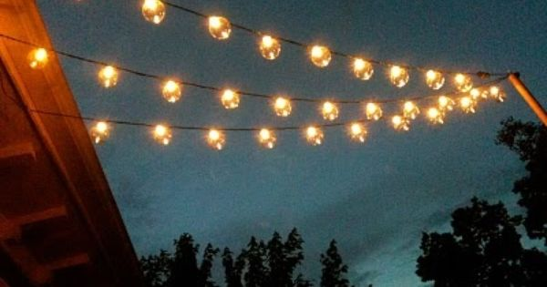 How To String Outdoor Lights Without Trees : How To String Outdoor Lights Without Trees Creativity - pixelmari.com
