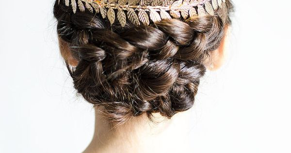 Wedding hair half up with tiara