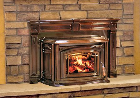 Wood Burning Fireplace Increasing Heat Fireplace Efficiency