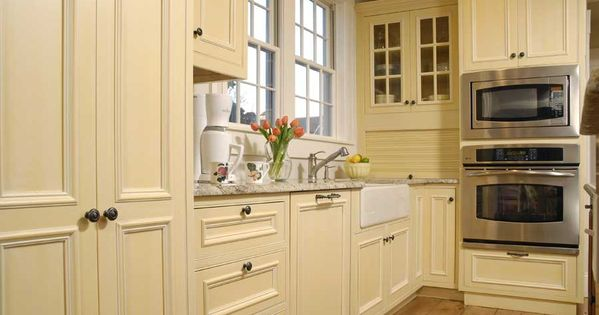 painted cream cabinets images | Solid Wood Kitchen Cabinet ...