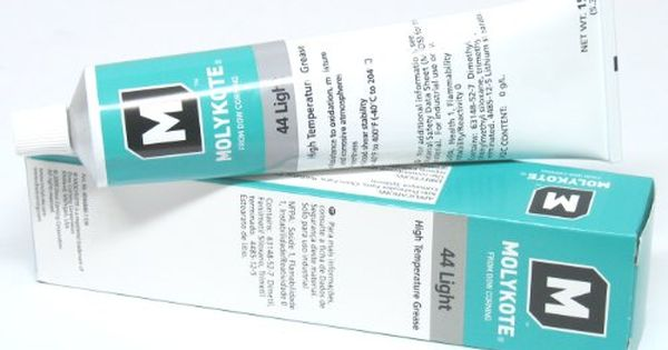 Dow Corning Molykote 44 Light Grease Lubricant 5 3oz 150g Tube Dow Corning Molykote 44 Light Grease Lubricant 5 3oz 150g Tube Grease Lubricant Corning Grease