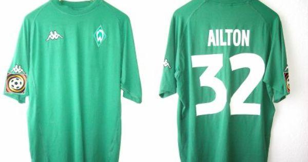 Werdertrikots Ohne Sponsor 3 2001 2002 Trikot Fussballtrikots Lycra