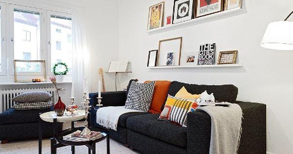 Decoracion sofa negro buscar con google decoraci n de - Salones con sofa negro ...