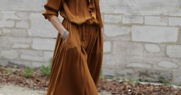 Long dress, maybe Chloé