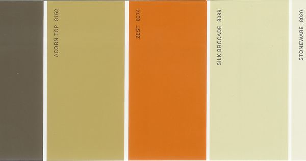Martha Stewart Paint 5 Color Palette Card 31 Martha Stewart Paint Paint Colour Charts And House