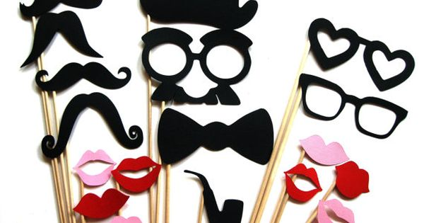 Photo Booth Props- fun party idea