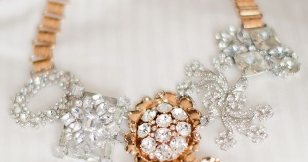sparkles jcrew necklace via stylemepretty
