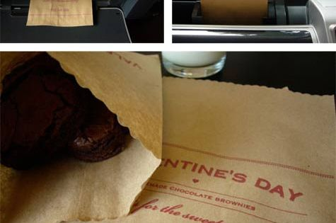 paper bags can go through printer ~ then embellish the end with