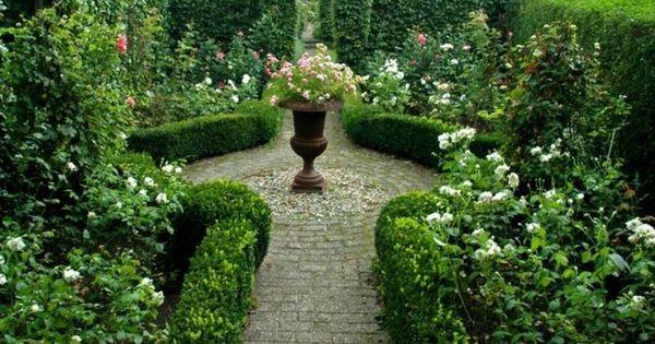 landschaftsbau englischer garten gestalten ideen steinweg, Moderne deko