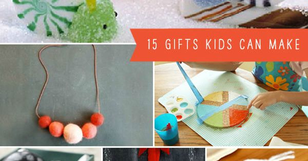 15 DIY Gifts Kids Can Make, Go To www.likegossip.com to get more