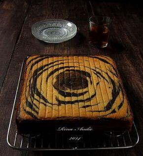 Cake Zebra Tape Keju Kue Lezat Resep Masakan Makanan Manis