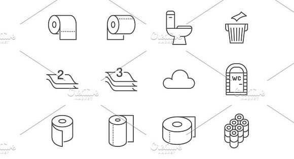 Toilet Paper Free Vector Icons Designed By Creaticca Creative Agency Scrapbook Images Vector Free Free Icons